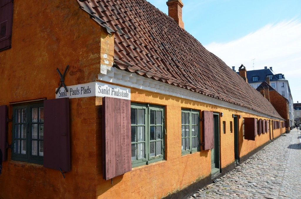 kopenhagen oranje huisje