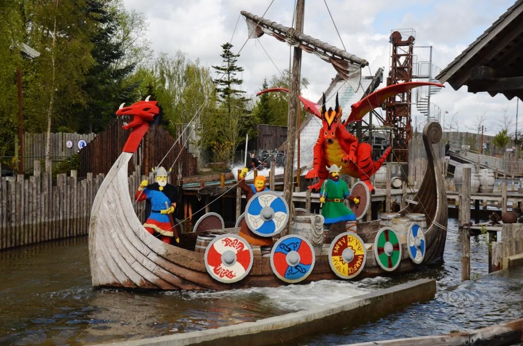 legoland vikingen boot