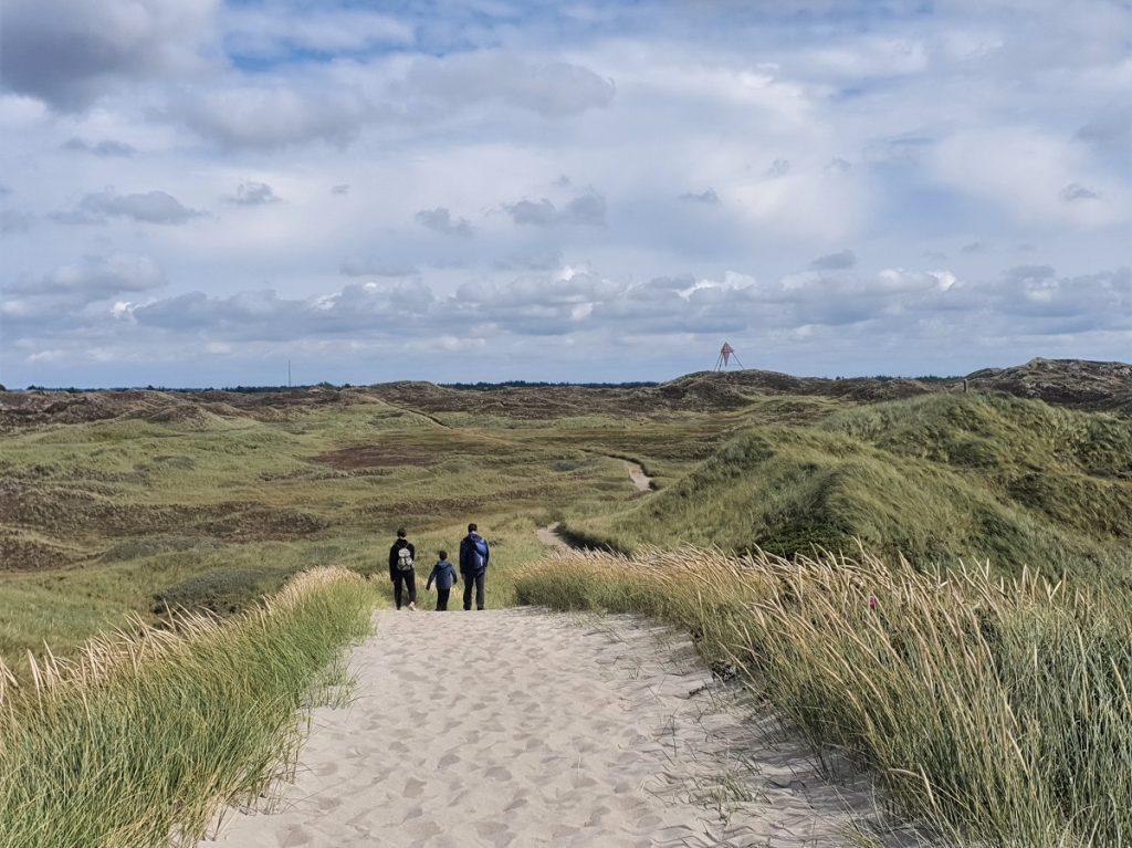 nationaal park Thy wandelen