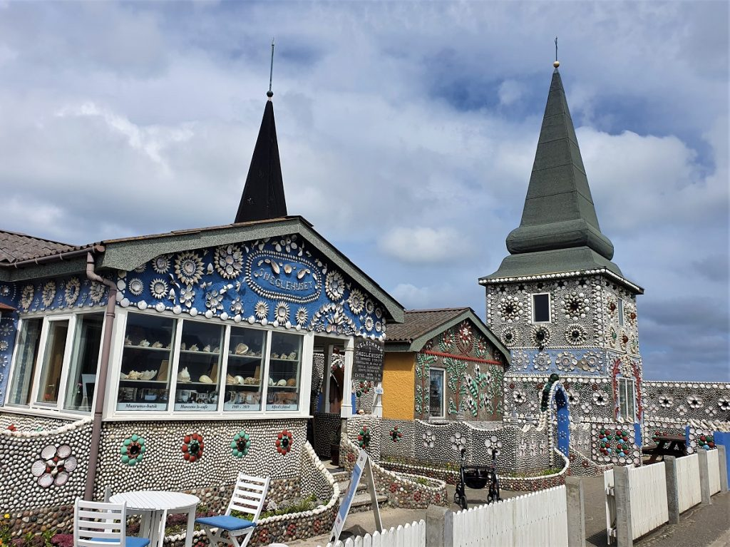 schelpenhuis Sneglehuset Thyboron