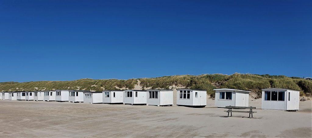 strand van Lokken in Denemarken